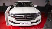 2016 Toyota Land Cruiser front at Auto Expo 2016