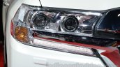 2016 Toyota Land Cruiser headlight at Auto Expo 2016
