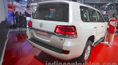 2016 Toyota Land Cruiser rear right three quarter at Auto Expo 2016