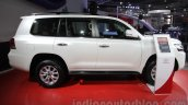 2016 Toyota Land Cruiser side at Auto Expo 2016