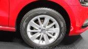 2016 VW Polo alloy rim at the Auto Expo 2016