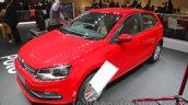2016 VW Polo front quarter at the Auto Expo 2016
