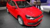 2016 VW Polo front three quarter at the Auto Expo 2016