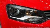 2016 VW Polo headlamp at the Auto Expo 2016