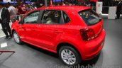 2016 VW Polo rear three quarter at the Auto Expo 2016