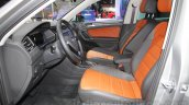 2016 VW Tiguan front cabin at the Auto Expo 2016