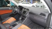 2016 VW Tiguan interior at the Auto Expo 2016