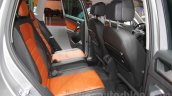 2016 VW Tiguan rear cabin at the Auto Expo 2016