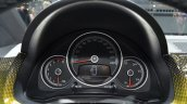 2016 VW Up! (facelift) instrument cluster at the 2016 Geneva Motor Show