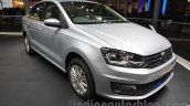 2016 VW Vento front quarter at the Auto Expo 2016