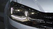 2016 VW Vento headlamp at the Auto Expo 2016