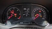 2016 VW Vento instrument cluster at the Auto Expo 2016