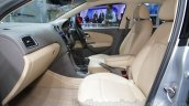 2016 VW Vento passenger area at the Auto Expo 2016