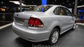 2016 VW Vento rear quarter at the Auto Expo 2016