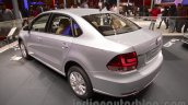2016 VW Vento rear three quarter at the Auto Expo 2016