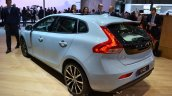 2016 Volvo V40 (facelift) rear three quarter at the 2016 Geneva Motor Show Live