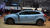 2016 Volvo V40 (facelift) side at the 2016 Geneva Motor Show Live