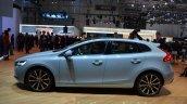 2016 Volvo V40 (facelift) side at the 2016 Geneva Motor Show Live