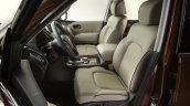 2017 Nissan Armada front seats