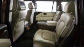 2017 Nissan Armada rear seat