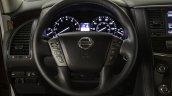 2017 Nissan Armada steering wheel