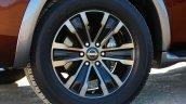 2017 Nissan Armada wheel