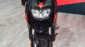 Aprilia SR 150 Black front at Auto Expo 2016