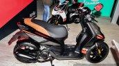 Aprilia SR 150 Black side at Auto Expo 2016
