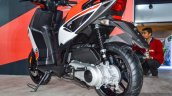 Aprilia SR 150 White alloy wheel at Auto Expo 2016