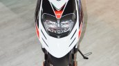 Aprilia SR 150 White front at Auto Expo 2016