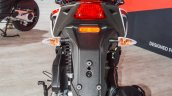 Aprilia SR 150 White rear at Auto Expo 2016