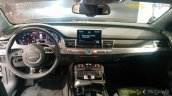 Audi A8L Security dashboard at the Auto Expo 2016