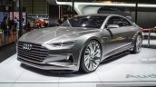 Audi Prologue concept front three quarters left at Auto Expo 2016
