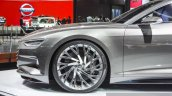 Audi Prologue concept wheel at Auto Expo 2016