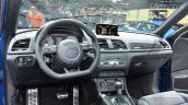 Audi RS Q3 Performance dashboard at 2016 Geneva Motor Show