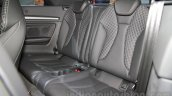 Audi S3 Cabriolet rear seats