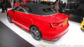 Audi S3 Cabriolet rear three quarters