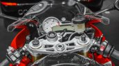 BMW S1000RR instrument console at Auto Expo 2016