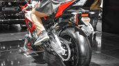 BMW S1000RR rear tyre at Auto Expo 2016