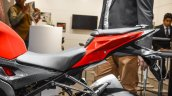 BMW S1000RR seats at Auto Expo 2016