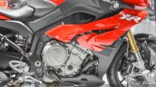 BMW S1000XR engine at Auto Expo 2016