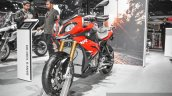 BMW S1000XR front quarter at Auto Expo 2016