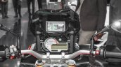 BMW S1000XR instrument console GPS navigation at Auto Expo 2016
