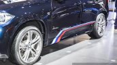 BMW X5 xDrive30d M Sport M tricolor stripes at the Auto Expo 2016