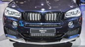 BMW X5 xDrive30d M Sport front bumper at the Auto Expo 2016