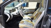 BMW i3 inspired by MR PORTER front cabin at the Geneva Motor Show Live