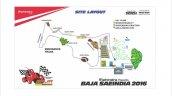 Baja 2016 endurance track