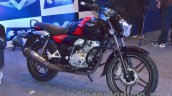 Bajaj V black front quarter unveiled