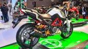 Benelli TNT 25 accessories rear quarter at Auto Expo 2016