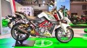 Benelli TNT 25 accessories side at Auto Expo 2016